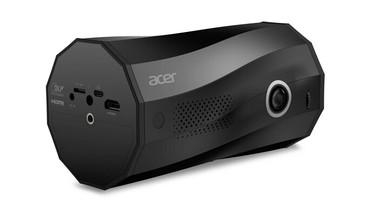 宏碁推出C250i可攜式LED投影機 支援多角度投影與世界首創自動直立投影模式
