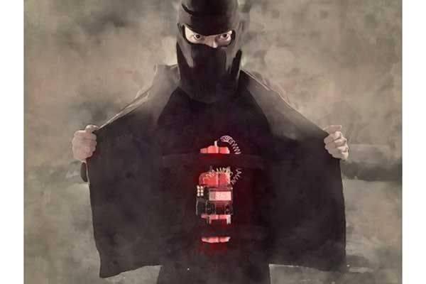 Ilustrasi bom bunuh diri
