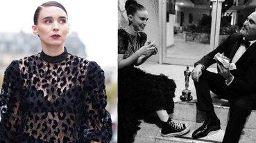 禮服下穿 Converse 還不是最時髦的!「瓦昆老婆」魯妮瑪拉靠 3 招「全身黑」也能穿出超多風格!