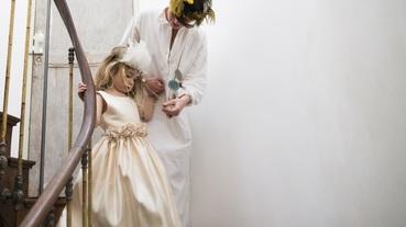 每個女孩的童年夢|板橋阿伯人氣網紅!高CP值手工小禮服搶售一空