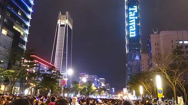 台北101煙火卡位攻略 市府廣場松智路最佳