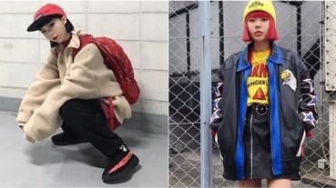 潮到男生都搶著 follow!這 4 位「韓國潮辣妹」絕對能當妳的潮流Icon!
