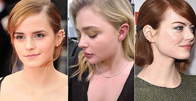 讓側臉線條更吸睛!女星都愛的耳骨夾,哪邊臉漂亮就夾哪邊