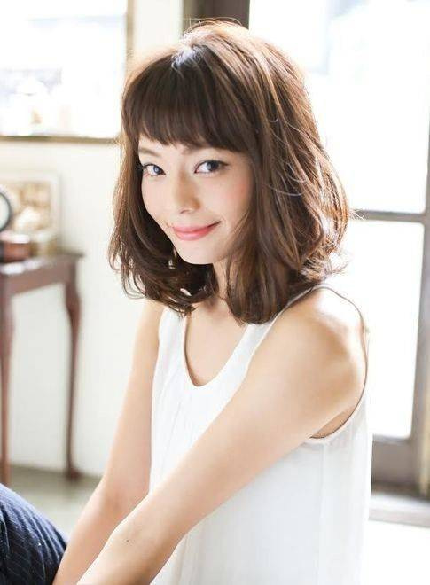 9 Inspirasi Model Rambut Sebahu Untuk Rambut Tipis Ala Korea Womantalk Com Line Today