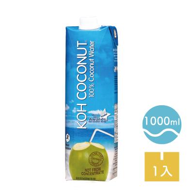 品名: [KOH酷椰嶼] 100%純椰子汁 (1L/罐) 成分: 100%椰子汁 保存期限: 15個月 產地: 泰國