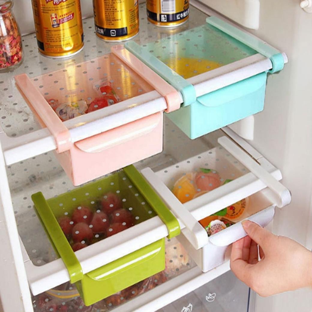 抽拉式冰箱保鮮收納置物盒【愛麗絲生活購物網】