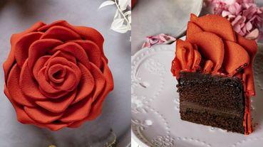 情人節選顆「熱情紅玫瑰蛋糕」浪漫過節!BAC最新限量「玫你不可」生巧克力蛋糕太夢幻~簡直像是藝術品