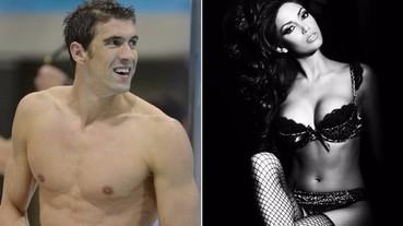 飛魚神話 ! Phelps 打破史前紀錄 , 未婚妻也大有來頭