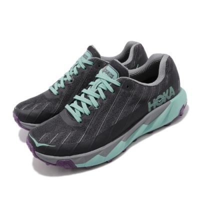品牌:HOKA ONE ONE HO1097755NISG 品名: W Torrent 特點: 弧形鞋底 輕量 緩震 透氣包覆 灰 綠