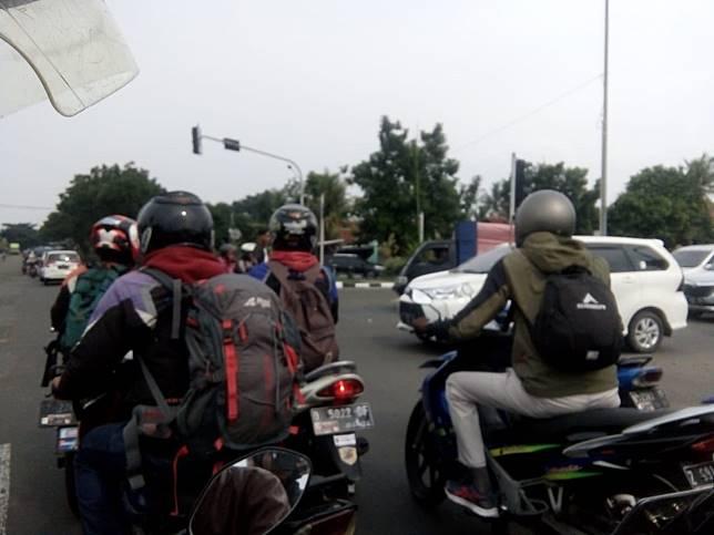 Lampu Setopan di Jalan Pramuka Cianjur Mati