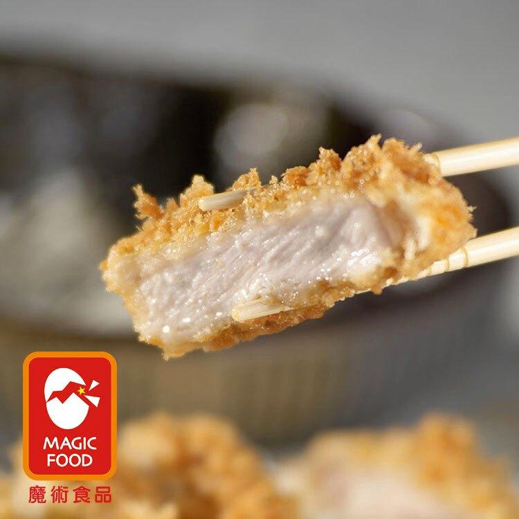 《魔術食品》日式大里肌豬排D-100(4片/包)(厚約1.4cm)(B140060)