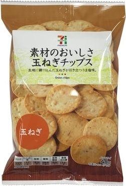 日本7-11【7-PREMIUM】洋蔥洋芋片/薯片 48g