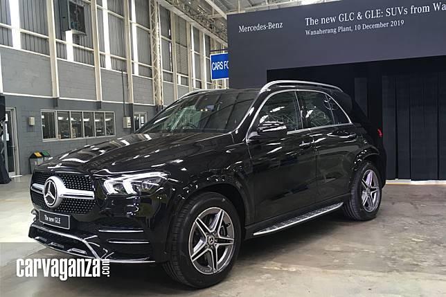 All-New Mercedes-Benz GLE Sekarang Rakitan dari Wanaherang