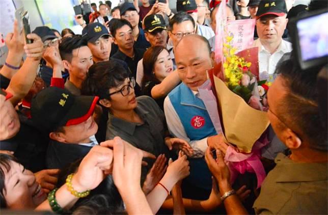 請假拼大位 韓國瑜:跑鄉鎮是總統候選人負責任表現