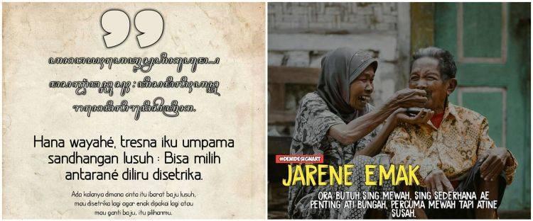 Kata Motivasi Hidup Dalam Bahasa Jawa