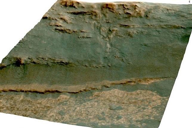 Batuan yang ditemukan di kawah Mars mirip dengan yang ada di pegunungan Hawai