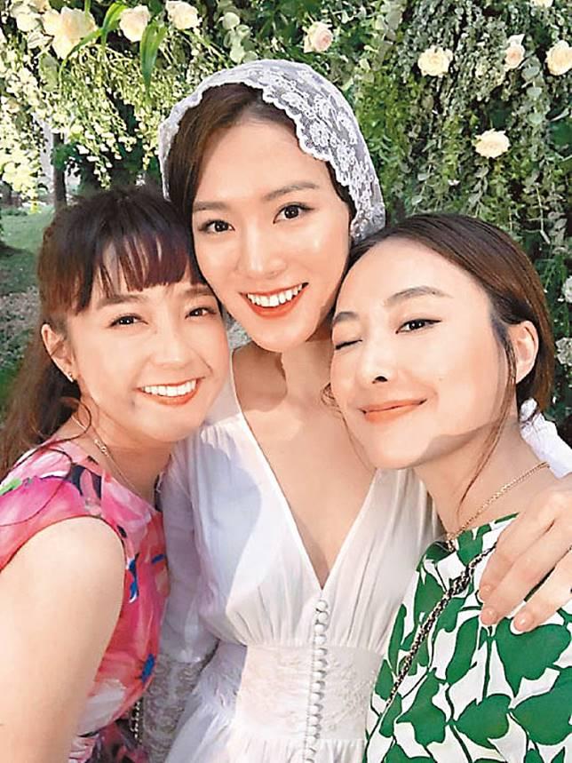 好姊妹王敏奕的結婚誓詞,令糖妹大受感動。