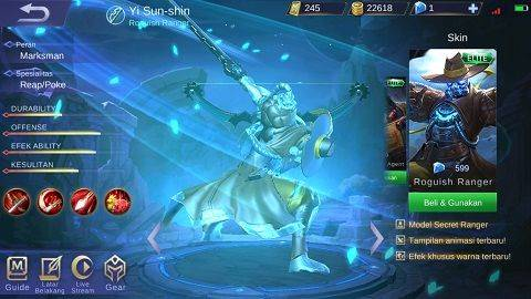 630+ Gambar Yi Sun Shin Mobile Legend Gratis Terbaru