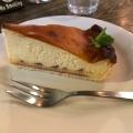 チーズタルト - 実際訪問したユーザーが直接撮影して投稿した西新宿カフェlecafedubleveの写真のメニュー情報