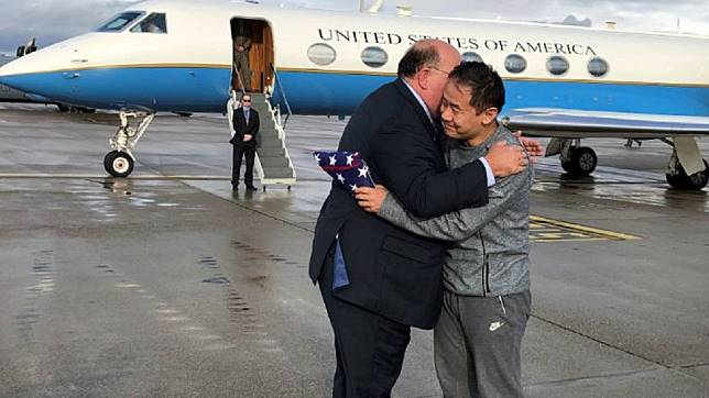 圖/翻攝自U.S. Embassy Bern twitter