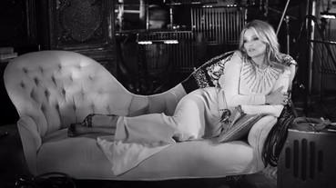 「視頻」超模Kate Moss 對嘴錄製音樂錄影帶!帥氣性感全包下~