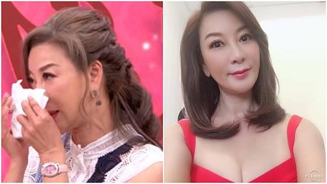 54歲女星楊繡惠最近節目上談過往真摯戀情淚崩。圖/翻攝自命運好好玩youtube頻道、楊繡惠臉書