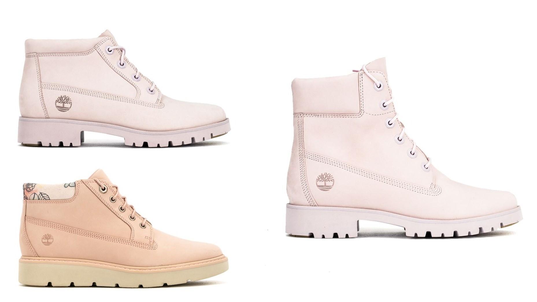Timberland換上絕美春色~春天靴款讓你甜美依然很有型