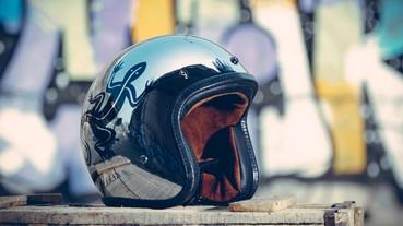 agnès b. b. cool 鏡面安全帽上市 b.