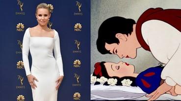 王子擅自「親」醒公主?女星 Kristen Bell 砲轟《白雪公主》其實很詭異