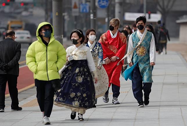 ▲南韓 17 個行政區皆已傳出武漢肺炎確診病例。(圖/美聯社/達志影像)