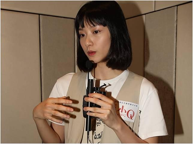 袁澧林承認讀大學時曾與對方拍拖。