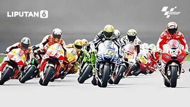 Ilustrasi MotoGP. (NONTONGP.COM/Abdillah)