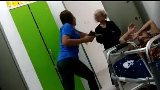 nenek di panti jompo mengalami pelecehan dan dipaksa minum air kencing (Facebook/PerakPress)