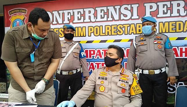 Soal Dugaan Penganiayaan Saksi Sarpan, Ini Kata Kapolrestabes Medan