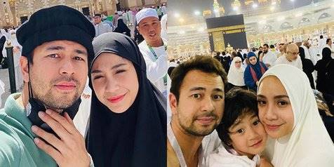 8 Potret Keluarga Raffi Ahmad dan Nagita Slavina Jalani Umrah, Rangkaian Dari Kegiatan Keliling Dunia