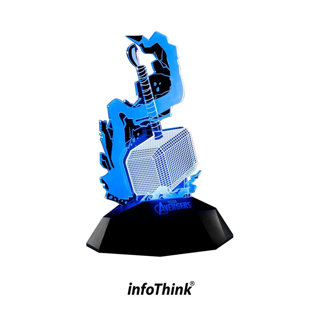 InfoThink 雷神之鎚3D立體光燈/情境燈(可同步充手機)