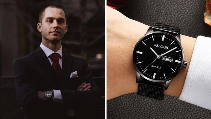 以「錶」傳情:6款適合送給男友的男錶大推薦
