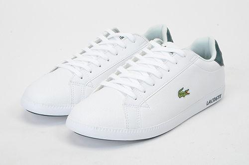 LACOSTE 男鞋 白色 GRADUATE LCR3 118 1 SPM 皮革 - 鞋款( 35SPM0013-1R5) 18A