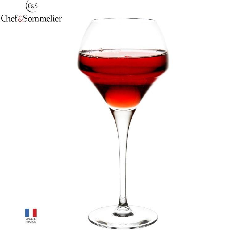 法國chef & sommelier水晶玻璃杯 高腳杯 紅酒杯 c&s 水晶杯 370ml 容量370c.c. (12 1/2oz) 杯口直徑95mm (3 3/4