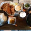 カキフライ定食 - 実際訪問したユーザーが直接撮影して投稿した千駄ケ谷オイスターバーOYSTER BAR WHARFの写真のメニュー情報