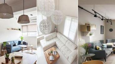 還以為自己在住民宿!掌握客廳家具比例,打造出媲美Airbnb的18款客廳布置~