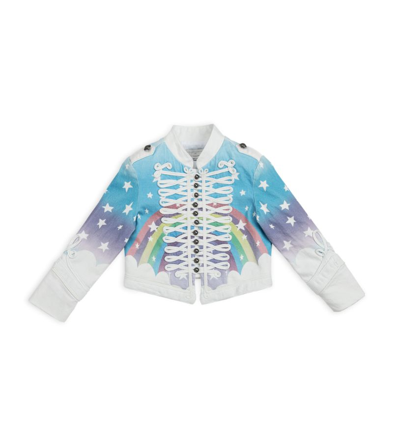 With military inspirations firmly cemented in modern wardrobes, Stella McCartney Kids offers its pla