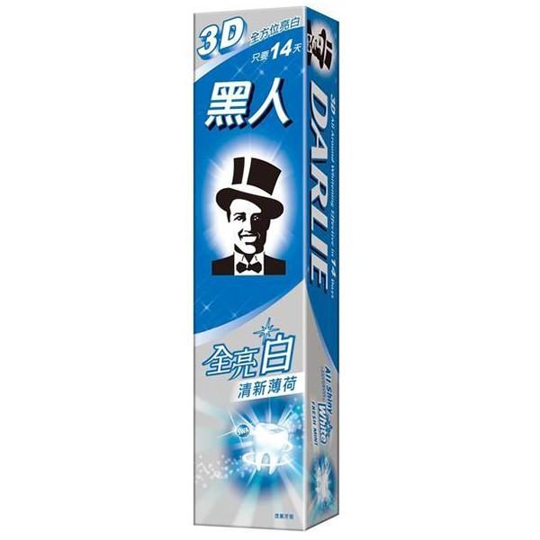 黑人 全亮白牙膏-清新薄荷 140g/條 維康 黑人牙膏 牙膏 口腔保健 牙線 牙刷