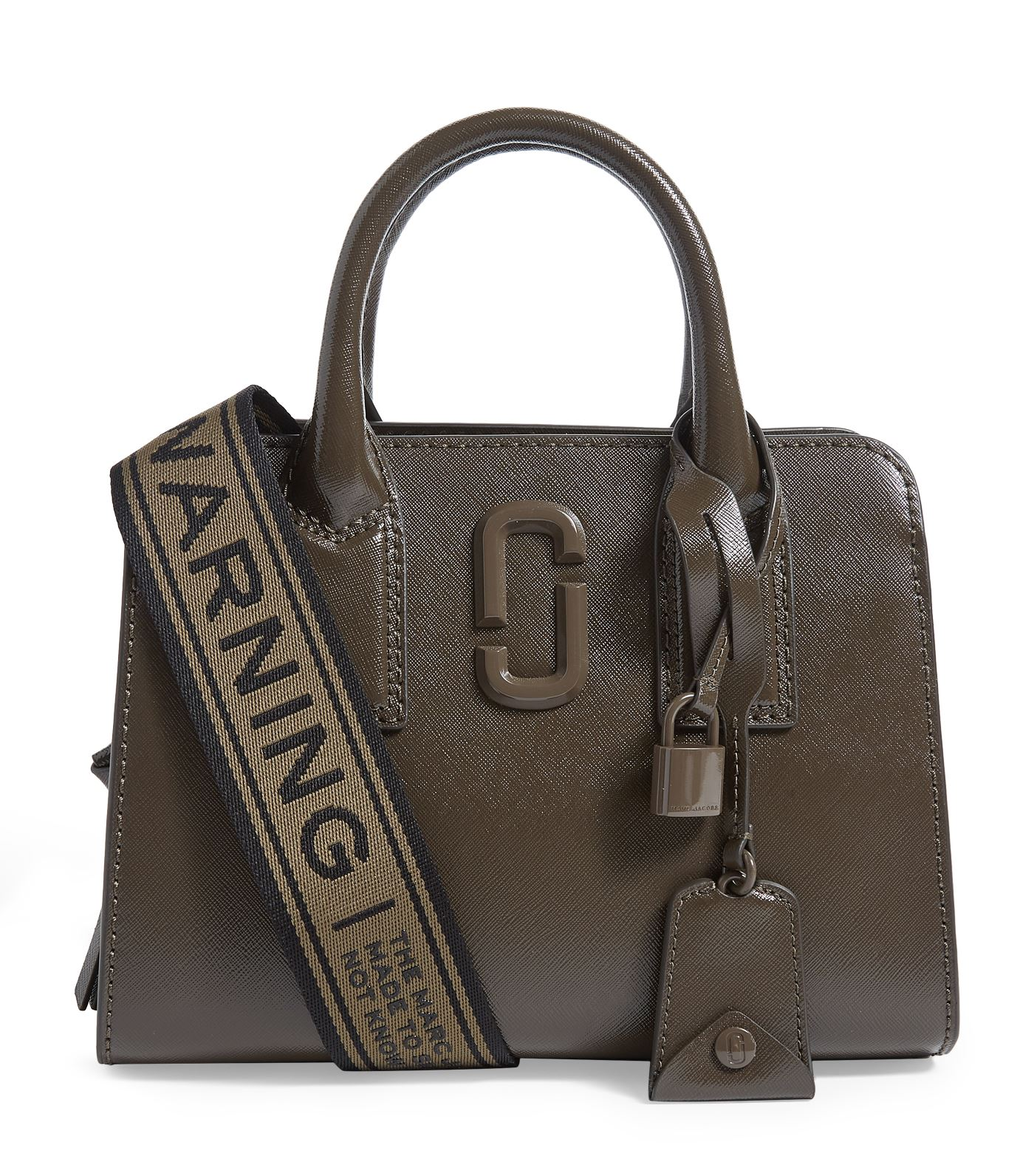 Marc Jacobs - Instantly recognisable courtesy of the detachable Warning Webbing strap, The Little Bi