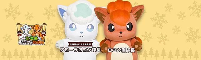 寶可夢另一對氣角色六尾和阿羅拉六尾已揀選了北海道為老家!(互聯網)