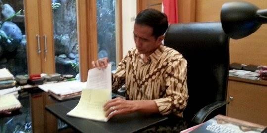 Jokowi. ©2014 merdeka.com/fikri faqih
