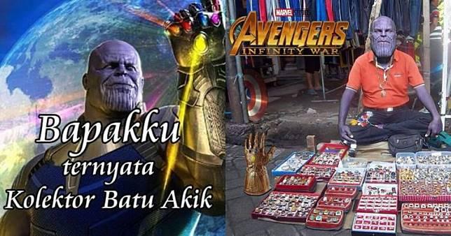 8 Meme Thanos dengan kearifan lokal ini bikin yang galau jadi ceria