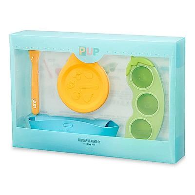 矽膠副食品儲存盒柔軟矽膠離乳湯匙矽膠可摺疊碗 攜帶便利