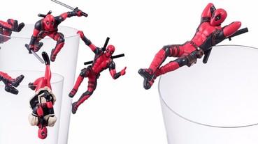 好想要!日本推出「死侍」杯緣子 痞子超級英雄各種姿勢帥炸天!