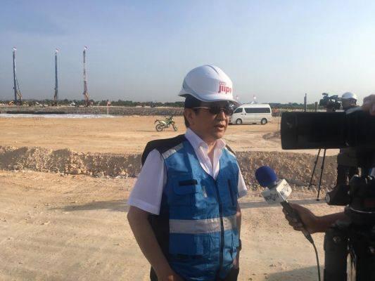 Direktur Utama PT Freeport Indonesia Tony Wenas